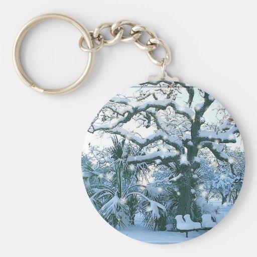 Winter Wonderland Keychain