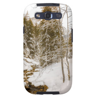 Winter Wonderland Landscape With A River Galaxy SIII Cases