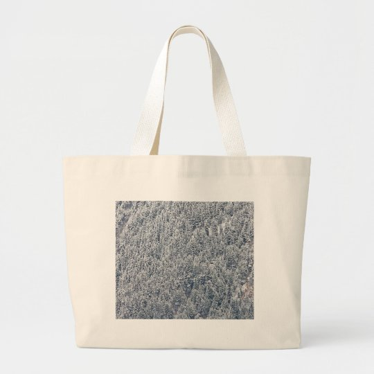 Winter Wonderland Large Tote Bag