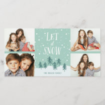 Winter Wonderland Let It Snow | Holiday 4- Photo