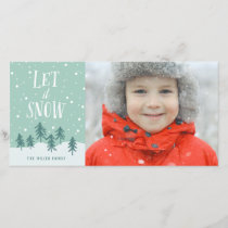 Winter Wonderland Let It Snow | Holiday Photo