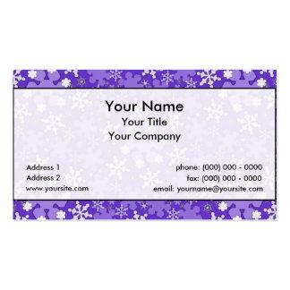 Winter Wonderland Lg Any Color Business Card