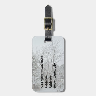 Winter Wonderland Bag Tags