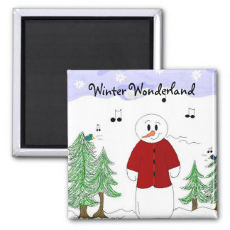 Winter Wonderland Magnet