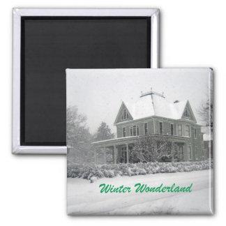 Winter Wonderland Fridge Magnets