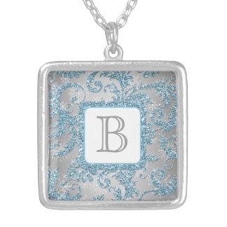 Winter Wonderland Monogram Necklace 2