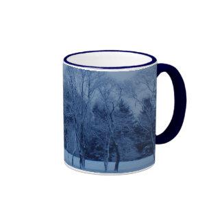 Winter Wonderland Ringer Coffee Mug