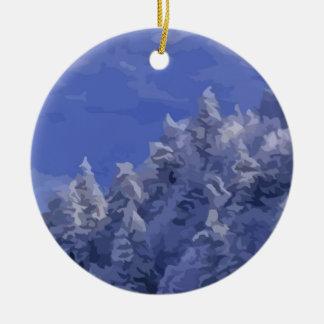 Winter Wonderland Christmas Tree Ornament