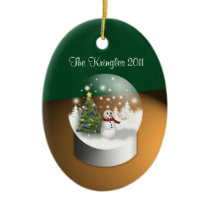 Winter Wonderland Oval Ornament