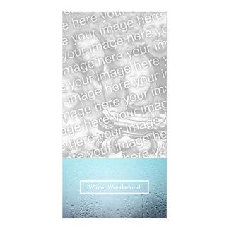 winter wonderland party window card