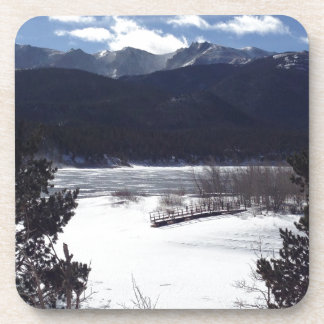 Winter Wonderland, Pikes Peak Drink Coaster