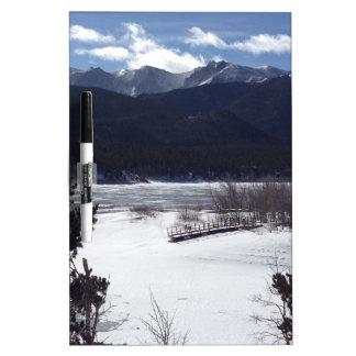 Winter Wonderland, Pikes Peak Dry Erase Boards