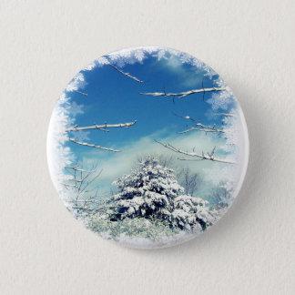 Winter Wonderland Pinback Button