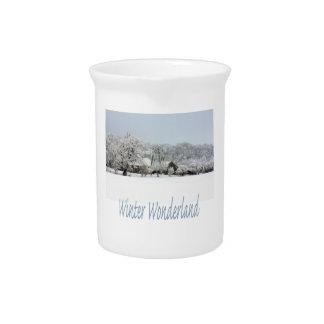 winter wonderland pitchers