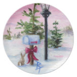Winter Wonderland Plate