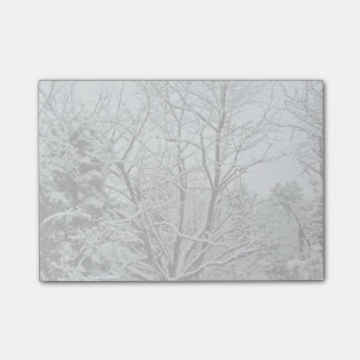 Winter Wonderland Post-it Notes
