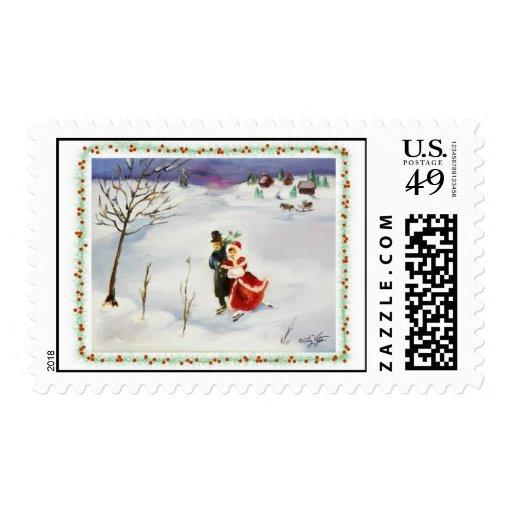 Winter Wonderland Postage
