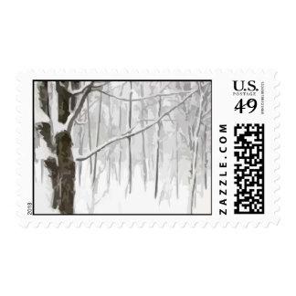 Winter Wonderland Postage Stamp