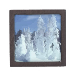 Winter Wonderland Premium Keepsake Box