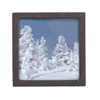 Winter Wonderland Premium Keepsake Boxes