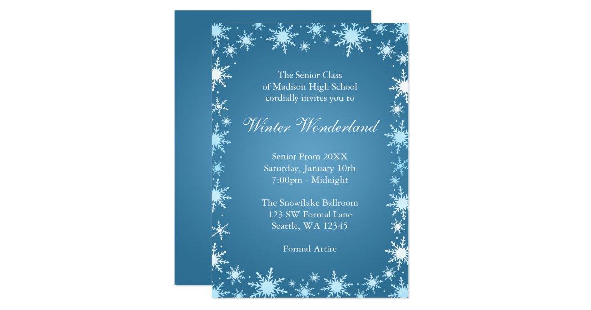 Prom Invitations Announcements – Prom Invitation Templates