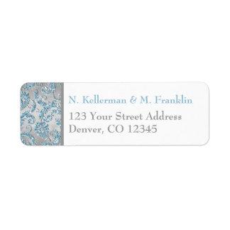 Winter Wonderland Return Address Label
