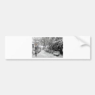 Winter Wonderland... Silent  Night Bumper Sticker