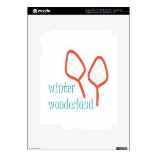 Winter Wonderland Skins For iPad 3