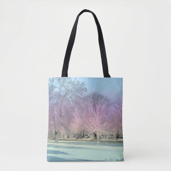 [Winter Wonderland] Snow Icy Trees Dream Landscape Tote Bag
