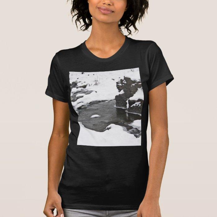 Winter Wonderland Snow River T-Shirt