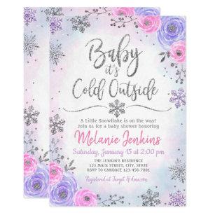 Winter Wonderland Baby Shower Invitations Zazzle