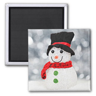 Winter Wonderland Snowman Magnet