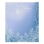 Winter Wonderland Sweet Sixteen Sign in Board Posters