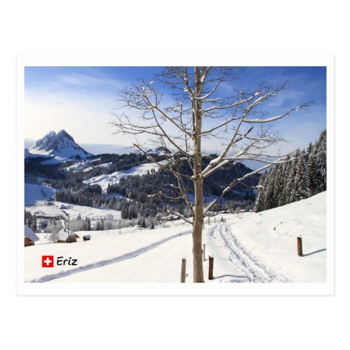 Winter wonderland - Switzerland Postcards