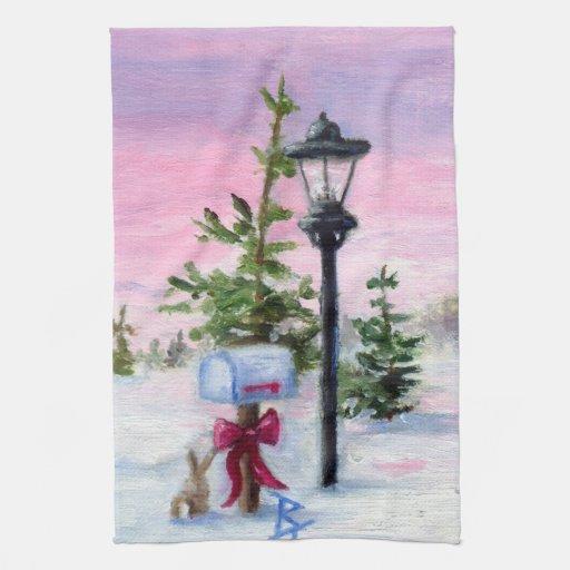 Winter Wonderland Towels