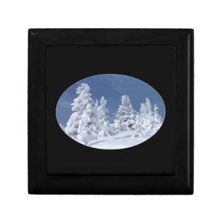 Winter Wonderland Trinket Box