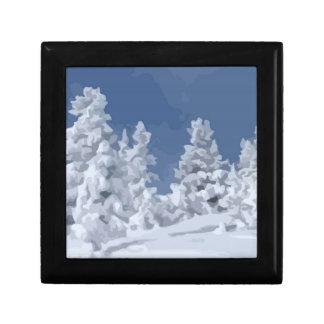 Winter Wonderland Trinket Boxes