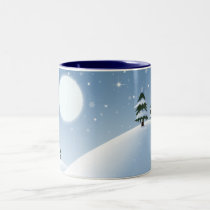 Winter Wonderland Two-Tone Coffee Mug