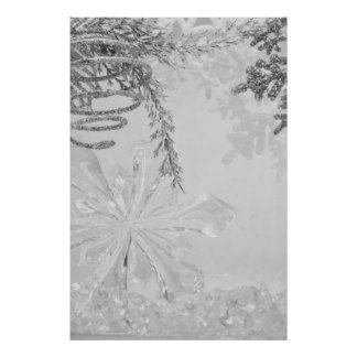 winter wonderland vertical poster