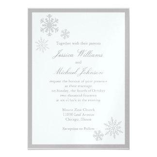 Winter Wonderland Wedding Card