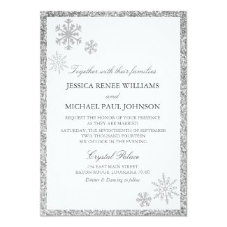 Winter Wonderland Wedding Invitations By Fancypaperie See More