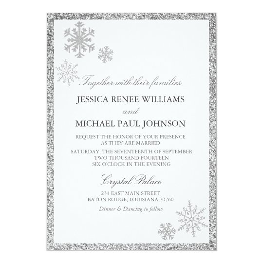winter wonderland wedding invitations zazzle com