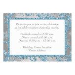 Winter Wonderland Wedding Reception Insert Large Business Cards (Pack Of 100)