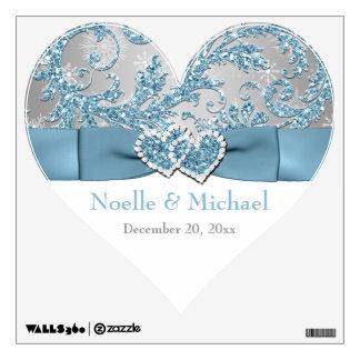 Winter Wonderland Wedding Wall Floor Decal Room Graphic