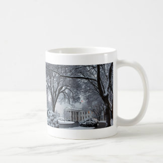 Winter Wonderland White House Coffee Mug
