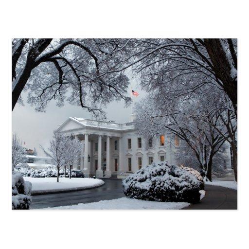 Winter Wonderland White House Postcards