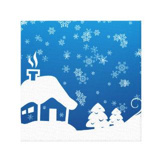 Winter Wonderland Wrapped Canvas