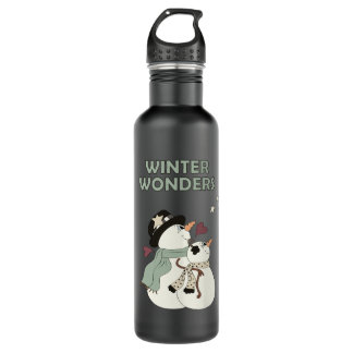 Winter Wonders (One) Water Bottle