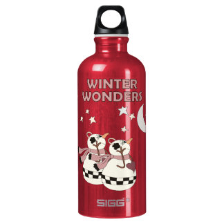 Winter Wonders (Two) Water Bottle