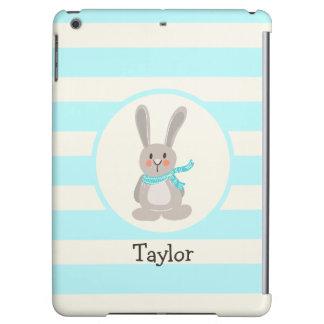 Winter Woodland Bunny Rabbit; Bright Blue iPad Air Cases